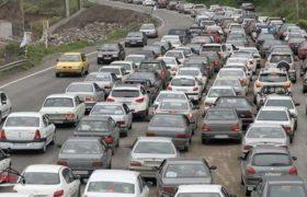 ترافیک محورهای مازندران سنگین است