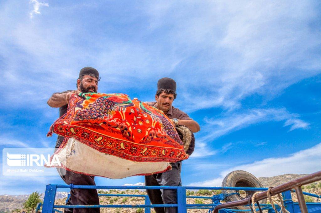 کوچ عشایر به استان چهارمحالوبختیاری